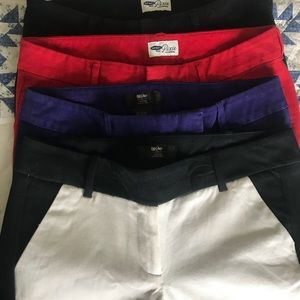 4 pairs stretch ankle pants Pixie and Mossimo